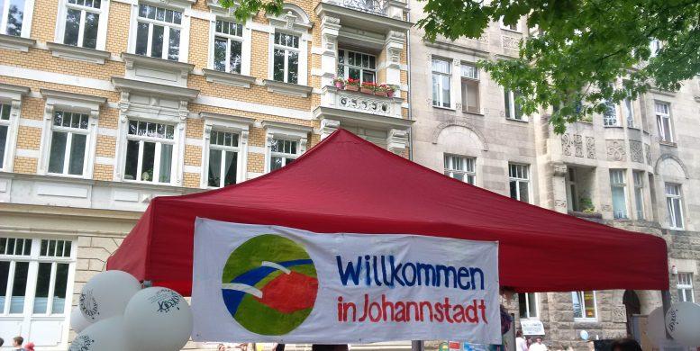 Stand Willkommen in Johannstadt