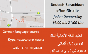 Flyer Sprachkurs